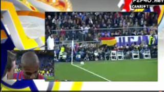FC Barcelona vs Real Madrid El classico 2012 All Goals- [ 2 - 1 ]  on 19 january 2012