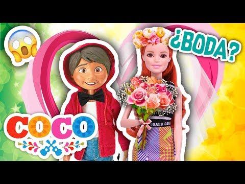 COCO: MIGUEL se CASA el DÍA del NIÑO en la KERMESSE de la ESCUELA - Juguetes Fantásticos