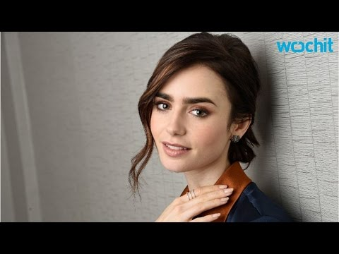 Lily Collins Looks Deathly Thin For New Anorexia Film