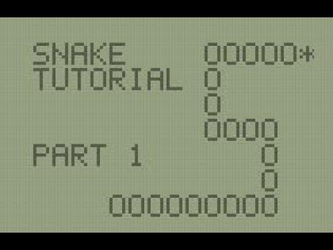 TI-BASIC Snake Program Part 1