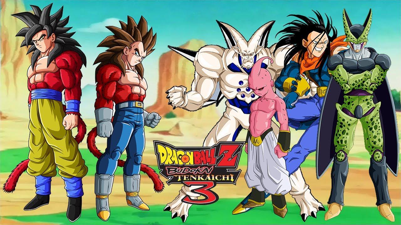 Omega Shenron Vs Kid Buu Dragonball Z: Tenkaich...