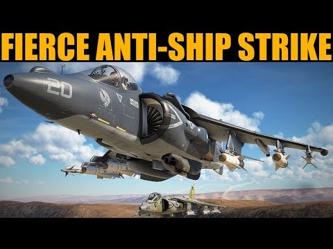 FIERCE Anti-shipping Strike In Persian Gulf | DCS WORLD
