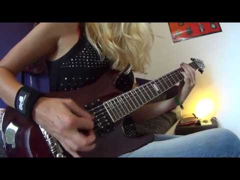 Cattle Decapitation - Kingdom Of Tyrants guitar cover by Simone van Straten