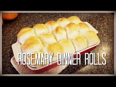 ROSEMARY DINNER ROLLS | Easy & Quick Recipe | ThatEverydayKira