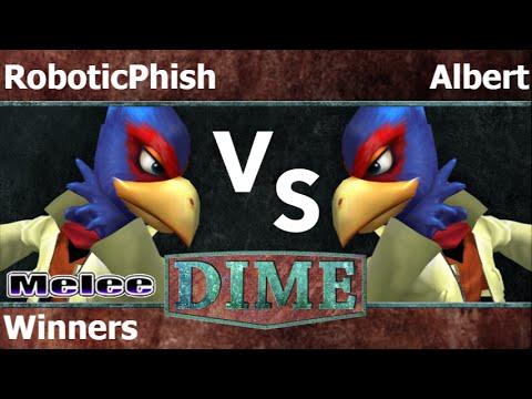 DIME 19 - RoboticPhish (Falco) vs FX   Albert (Falco) Winners - Melee
