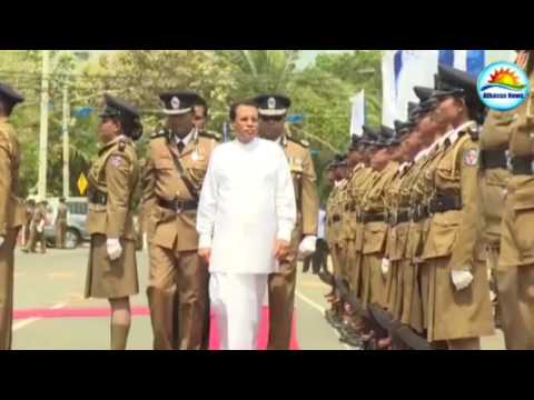 Jaffna Police headquarters inaugurated by President