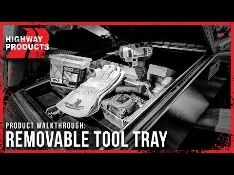 Highway Products | Removable Truck Tool Box Trays