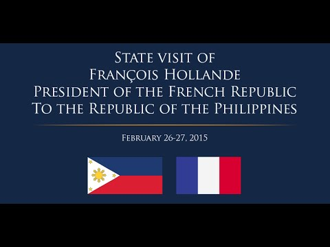 State Visit of French President Francois Hollande - PTV Coverage [02/26/15]