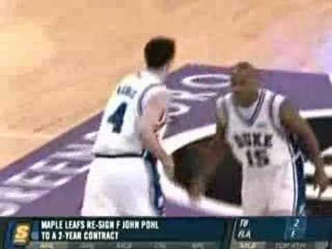 JJ Redick NBA Draft Video