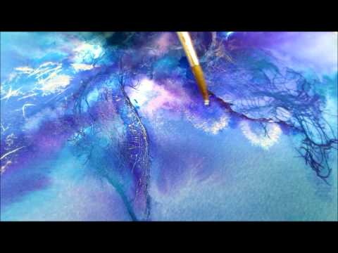 Linda Melvin's Abstract Fluid Watercolor System---Lesson 2
