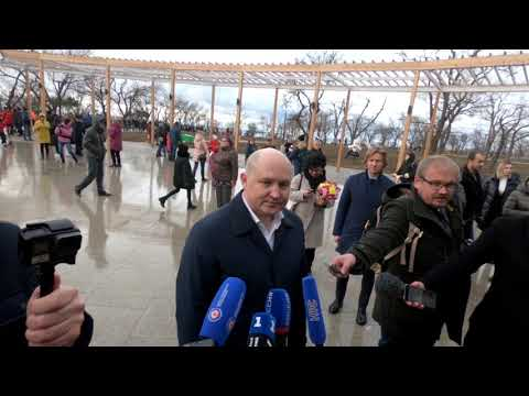 Парк Учкуевка открыт - первые кадры из Севастополя