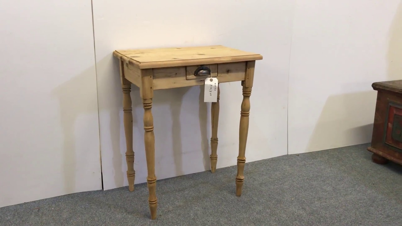 Small Antique Pine Side Table For Pinefinders Old Furniture Warehouse