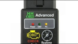 Мини ELM327 V2 1 Bluetooth HH OBD Расширенный OBDII OBD2 ELM 327 Автомобилей Диагностический Сканер