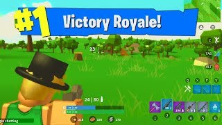 I ACTUALLY PLAYED ROBLOX FORTNITE...