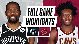 NETS at CAVALIERS | FULL GAME HIGHLIGHTS | January 20, 2021