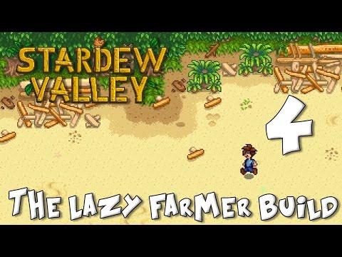 Stardew Valley Lazy Farmer Build 4: The Crabby Potty Secret Formula