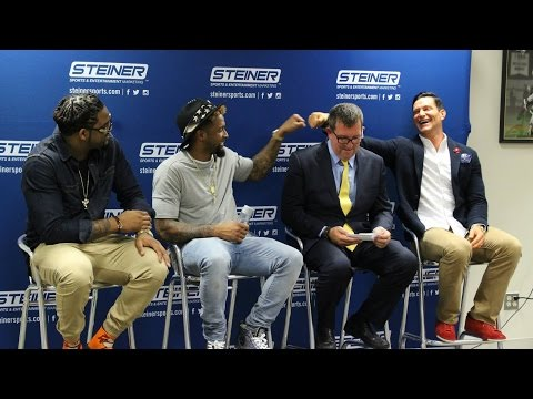 """""""A Giant Evening"""" Interview / Q&A with Odell Beckham Jr , Steve Weatherford and Damontre Moore"""