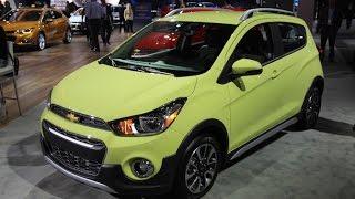2017 Chevrolet Spark Activ First Look - 2016 LA Auto Show