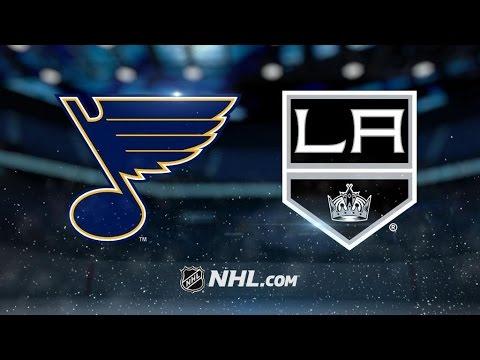 St. Louis Blues Vs. Los Angeles Kings | NHL Game Recap | March 13, 2017