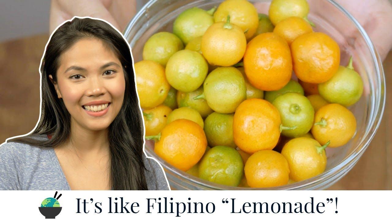 Calamansi Juice | How to make calamansi drink recipe | Filipino Recipes