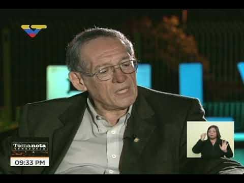 Alberto Rodríguez Carucci en Toma Nota Venezuela