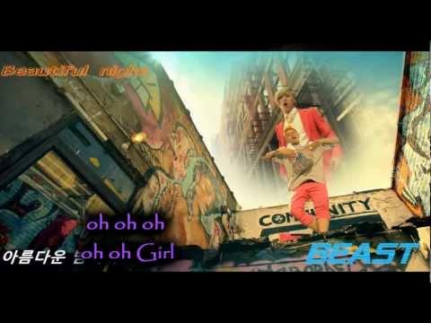 Beautiful Night - BEAST/B2ST (Karaoke/Instrumental)