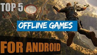 Top 5 Best OFFLINE Android Games | Under 20MB | No internet required I