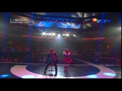 THE VIRGIN [Demi Nama Cinta] Live At Infotaiment Awards 2014 (29-01-2014) Courtesy SCTV