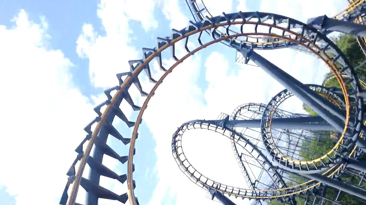 vortex hd pov kings island roller coaster - youtube