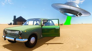 Finding The NEW SCARY UFO in the NEW Update in The Long Drive!