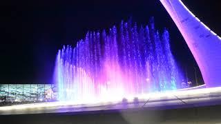 Сочи Олимпийский парк. Шоу поющих фонтанов.