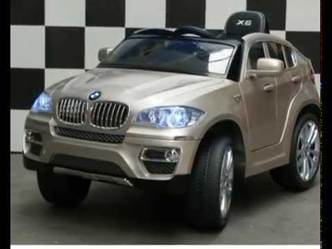 kinderauto kinder elektroauto bmw x6 jeep suv premiumedition 12v 90w youtube. Black Bedroom Furniture Sets. Home Design Ideas