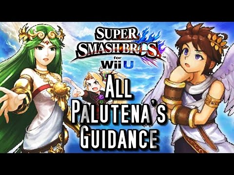 Super Smash Bros Wii U ALL PALUTENA GUIDANCE Conversations (HD) Easter Eggs