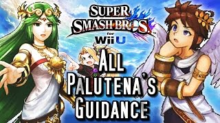 Super Smash Bros Wii U ALL PALUTENA GUIDANCE Conversations (HD) Easter Eggs