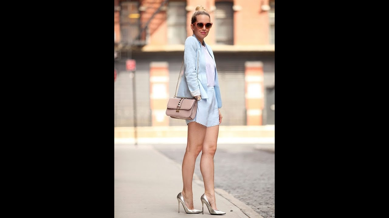 51698bd3e069 Summer pastel color street style and outfit ideas 2018 - YouTube