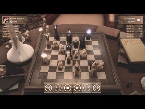 Chess Ultra Games 27-29 VS Computer Grandmaster/Professional difficulty |