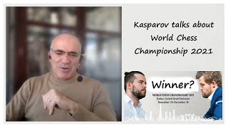 Carlsen or Nepo - Who's the favorite to win? || Kasparov Answers