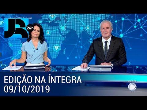 Assista à íntegra do Jornal da Record | 09/10/2019