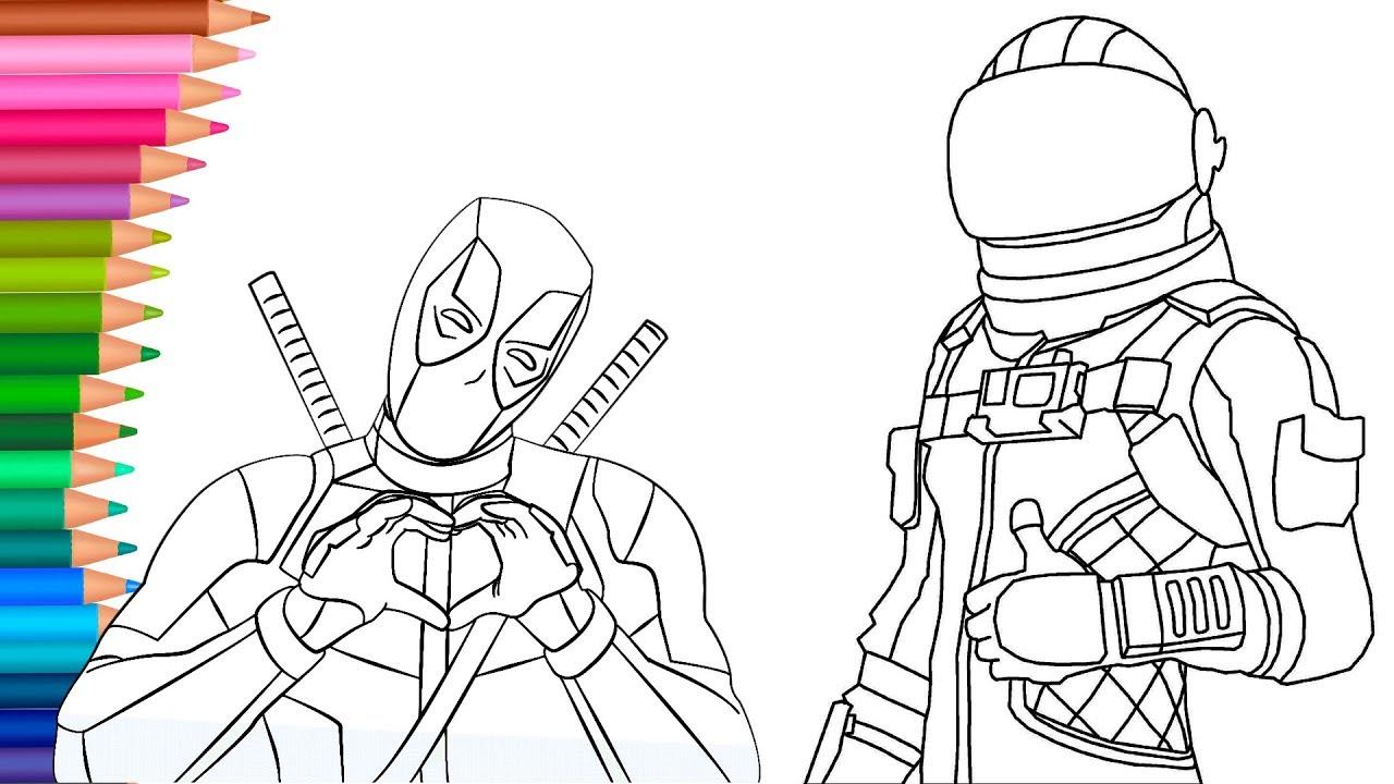 Deadpool Dibujos Para Colorear Dibujos Para Pintar Con Mimi