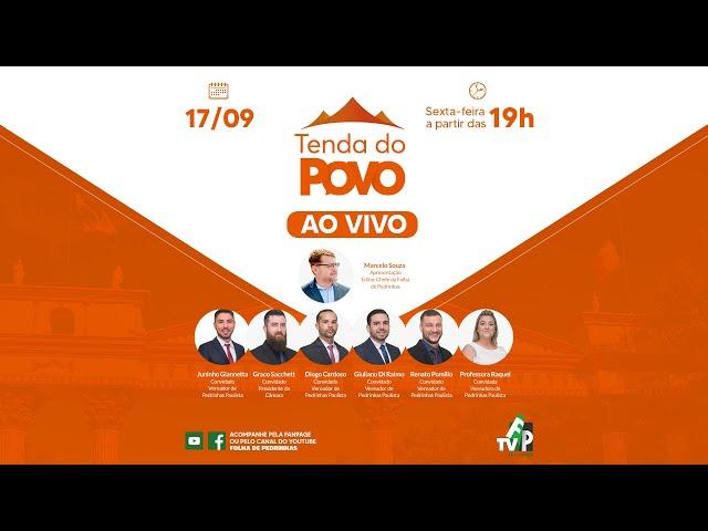 AO VIVO | TENDA DO POVO | Pedrinhas Paulista