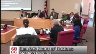 Board Meeting: February 26, 2015