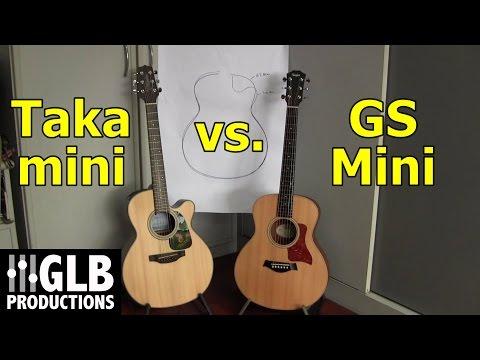 Takamine Taka-mini vs. Taylor GS Mini
