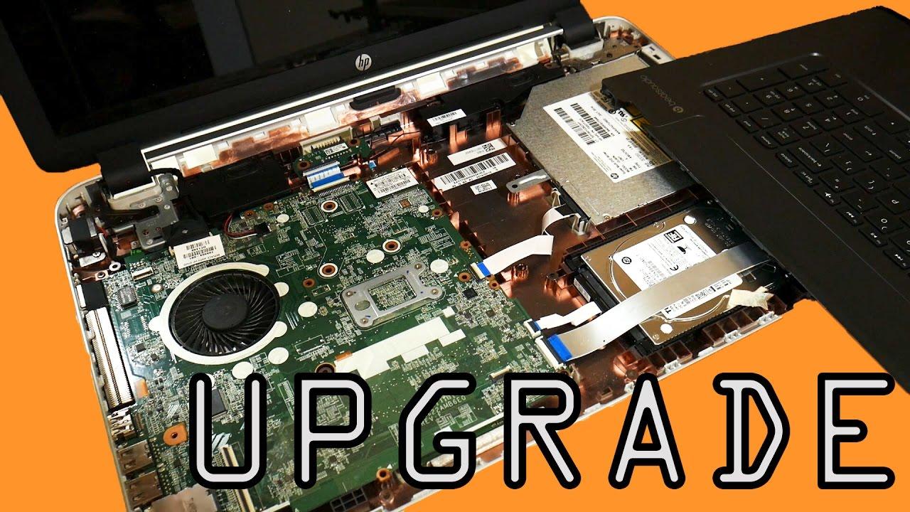 HP Pavilion Laptop Upgrade: RAM & SSD