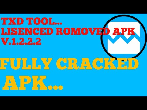 TXD TOOL CRACKED APK ||LICENCE REMOVED APK|| DOWNLOAD NOW