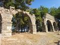 Руины античного города Фазелис, Кемер, Турция часть 1