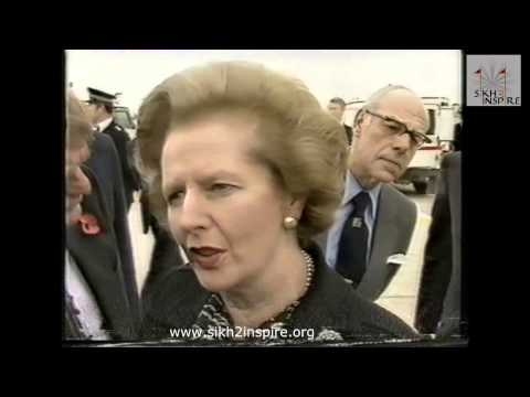 Margaret Thatcher's disgust at Sikhs-1984, funeral of Indira Gandhi