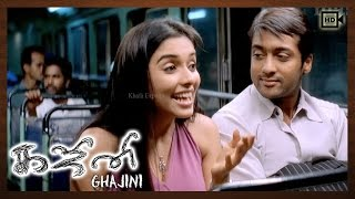 Ghajini Tamil Movie | Scenes | Suriya Purpose Love To Asin