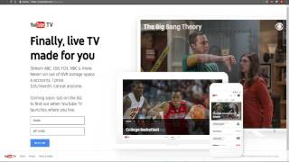 Youtube TV  YouTube Announces YouTube TV! And It's AWESOME! $35