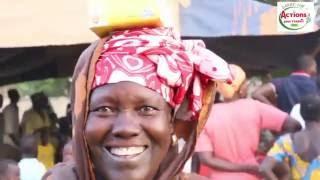 Force du Partage / Distribution de Denrées à Thicat Ouolof dans la Région de Kaffrine