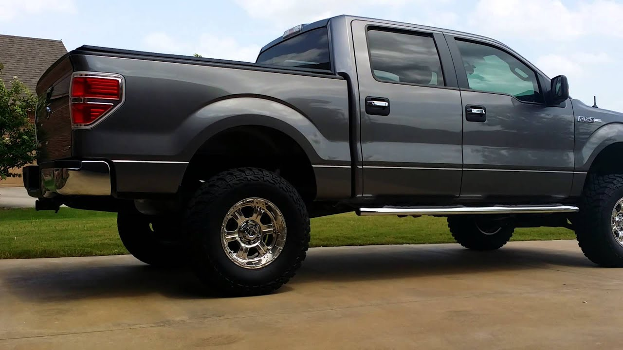 F150 4 Inch Lift >> 2014 f150 lifted 6 inches now - YouTube